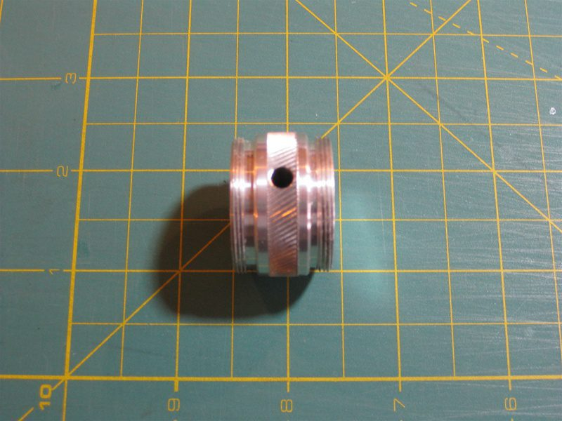 Silver v2 Coupler [ONLY FITS v2 SABERS]