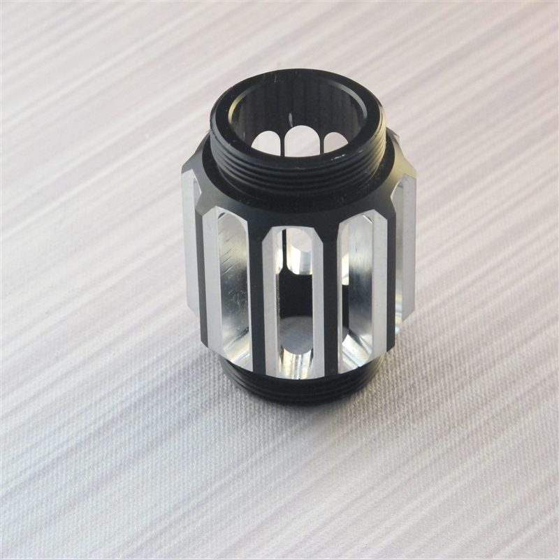 Black Coupler with Vents