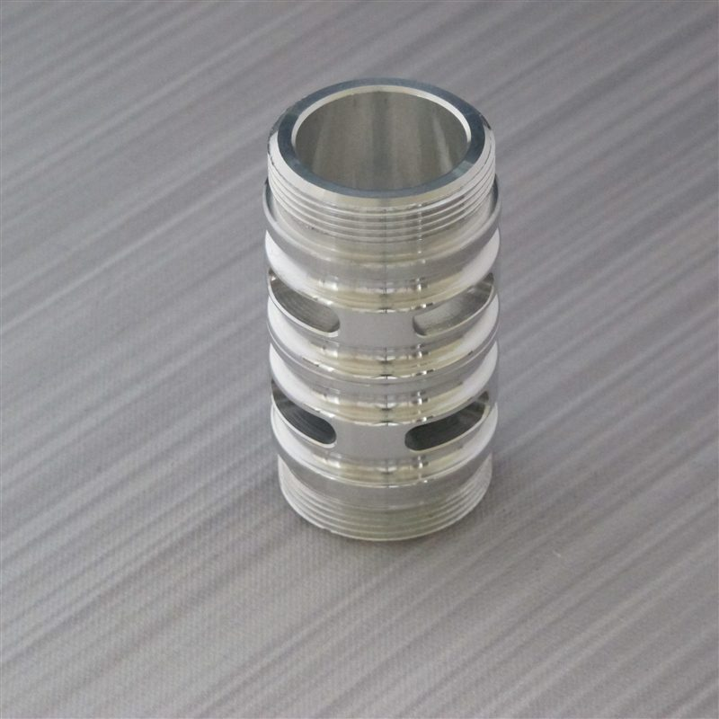 Flush Silver Finish Coupler with Vents