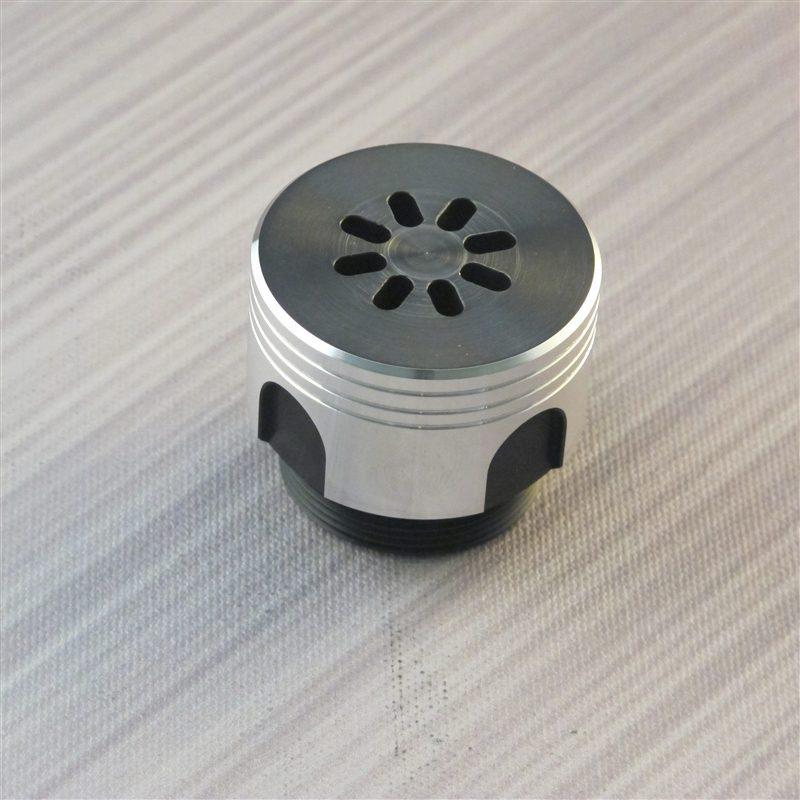 Bellicose Short Grooves Custom Lightsaber Pommel