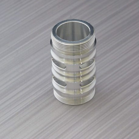 Silver Flush Coupler  With vents for sabers with sound