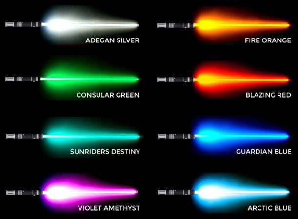 What Lightsaber Color Are You Ultra Sabers