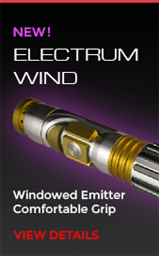 Electrum Wind Lightsaber