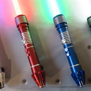 All Four Dorinian Custom Lightsaber Models