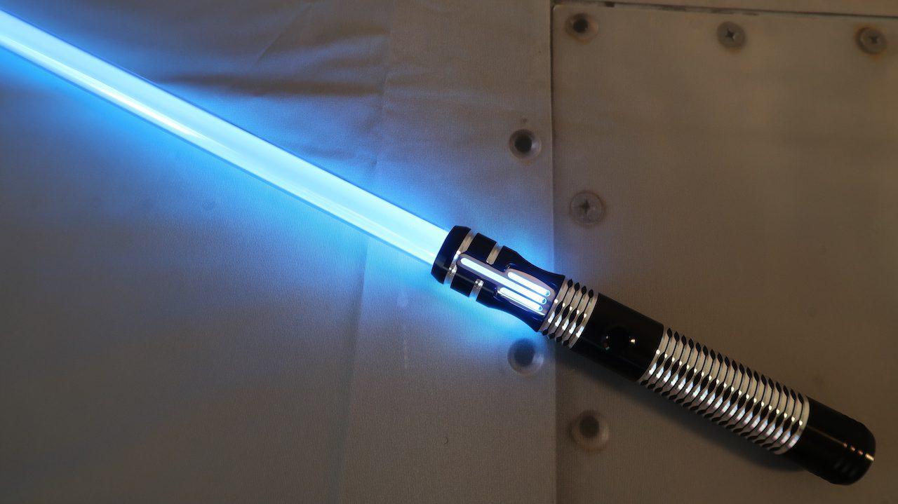 The Dark Apprentice LE v5 Custom Lightsaber Full View