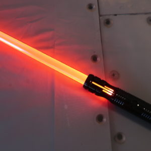 The Dark Apprentice v5 Custom Lightsaber Full View