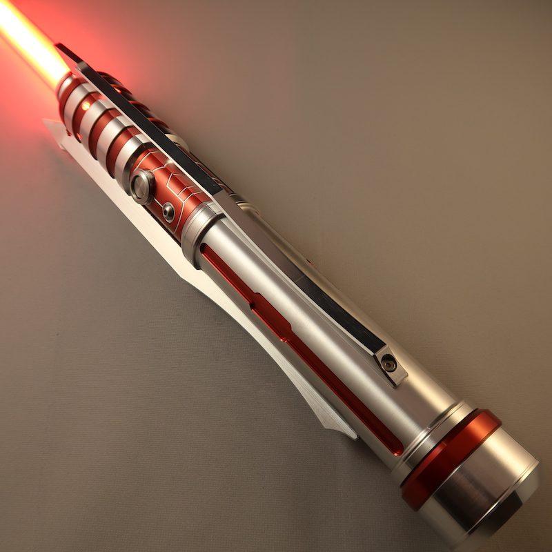 Crimson Butcher Custom Lightsaber Illuminated Emitter