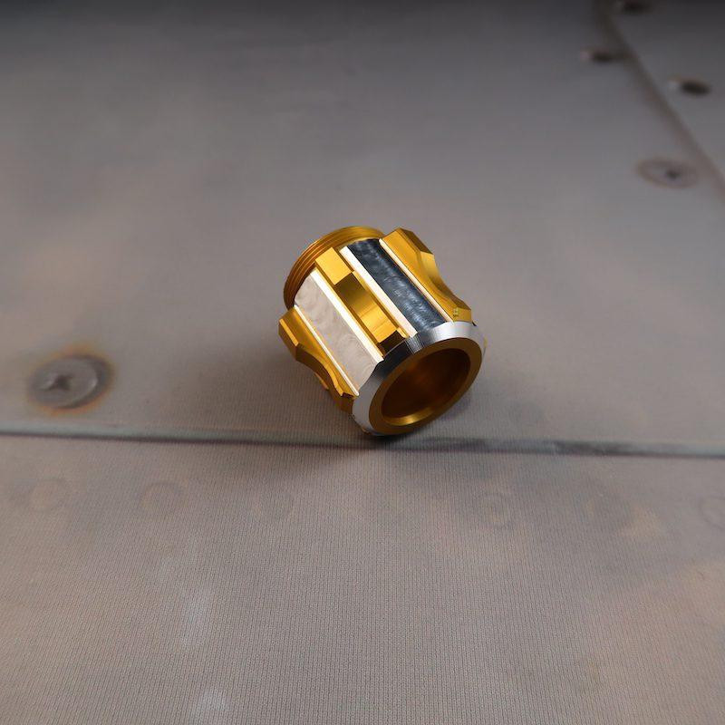 Aeon LE v5 Pommel Custom Lightsaber Angled