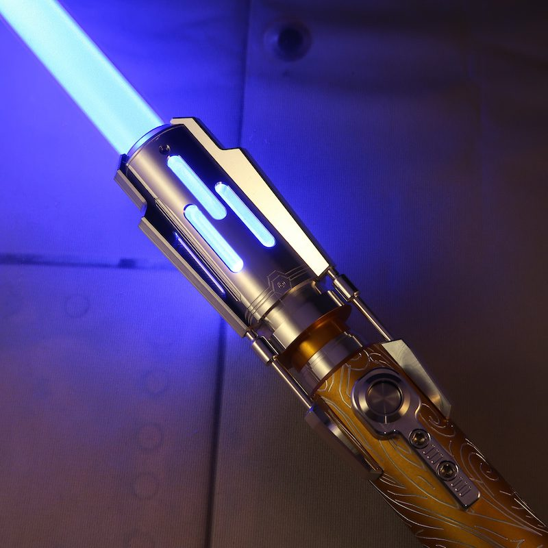 Grand Master LE Custom Lightsaber Emitter Ignited