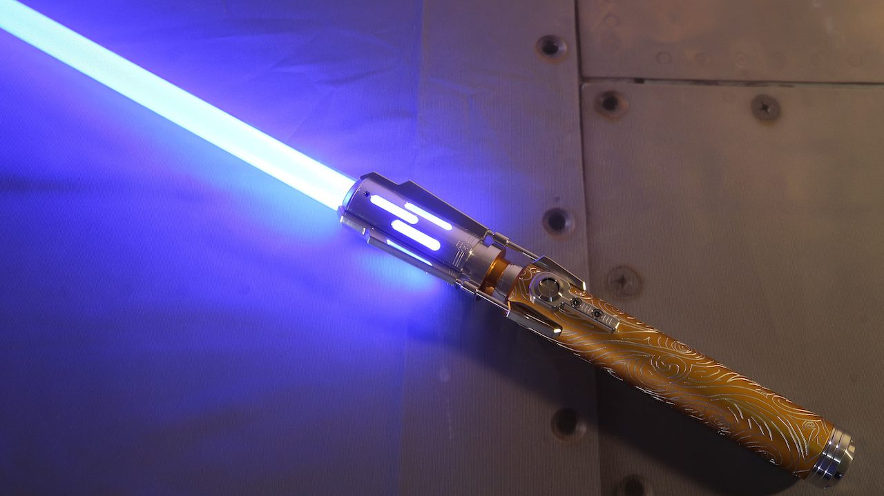 Grand Master LE Custom Lightsaber Full View