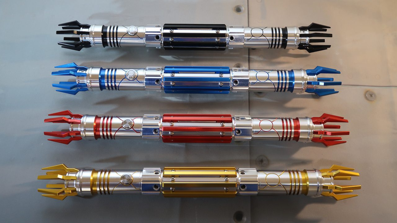 All 4 Dominicide Lightsabers