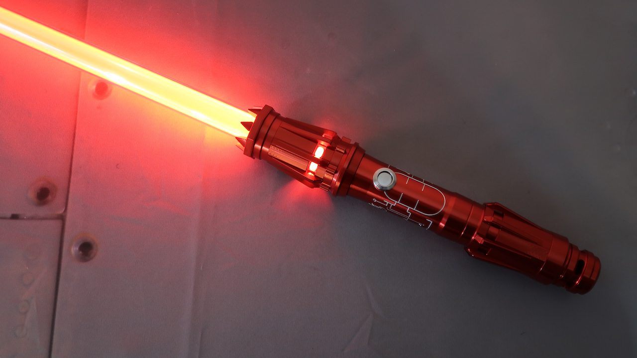 The Crimson Empress From Ultrasabers With Engraving