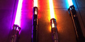 Multi-Colored Lightsabers