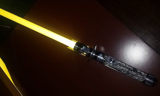 Yellow Lightsaber